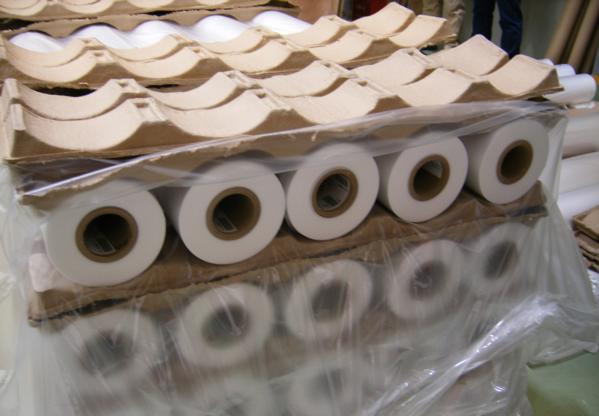 供应环保优质纸浆卷托架 专业纸类包装容器模塑设计加工定制批发 环保纸浆卷托架