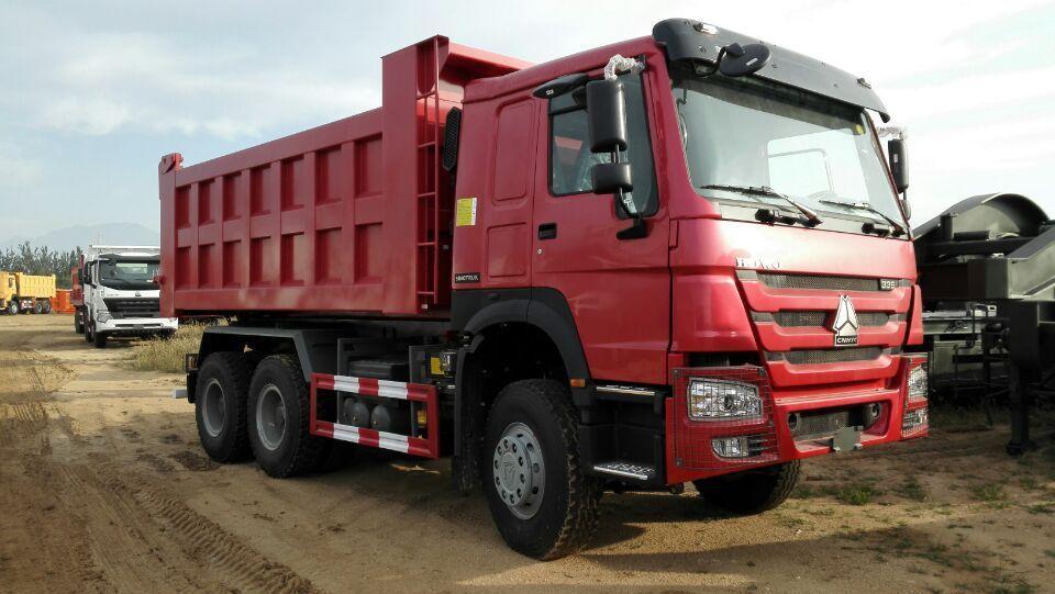中国重汽豪沃后8轮5.6米自卸车ZZ3257N3647A 出口加纳豪沃5.6米自卸车 出口刚果豪沃5.6米自卸车