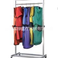 ( 宸禄牌铅衣架)悬挂铅衣铅帽的铅衣架 移动式铅衣架厂家 6挂件铅衣架