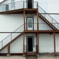 苏州惠诚钢结构阁楼楼梯扶手护栏