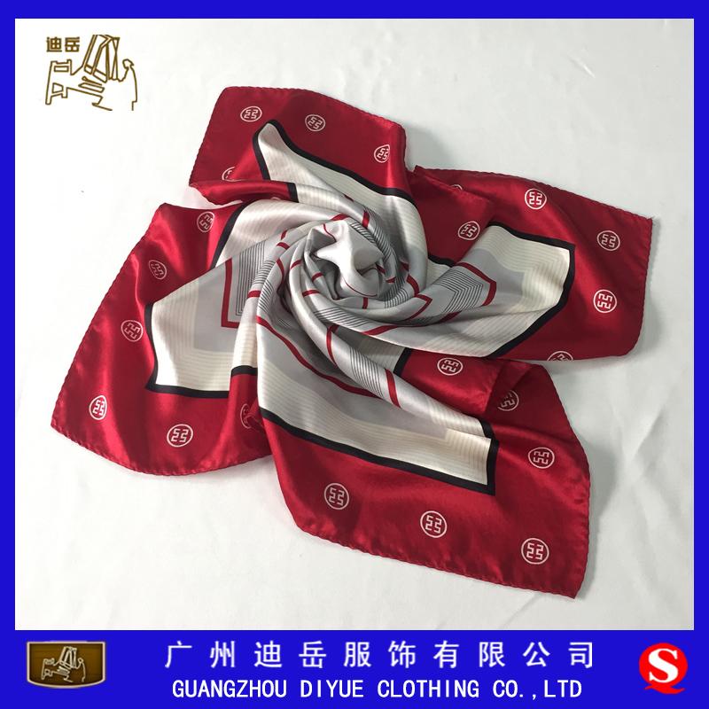 广州丝巾厂-丝巾定做厂家-丝巾定制-logo丝巾