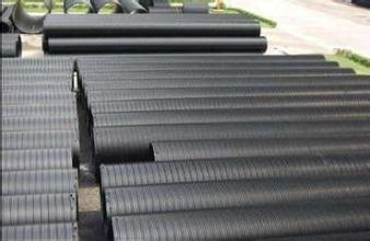 威海荣成大口径HDPE钢带波纹管图片/威海荣成大口径HDPE钢带波纹管样板图 (1)