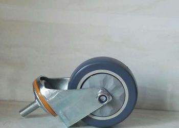 平衡车架专用PU材质脚轮图片