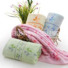 高阳厂家直销提花朵毛巾图片
