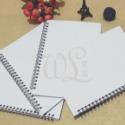 笔记本定制PP空白线圈本草稿本办公用品学习用品订做