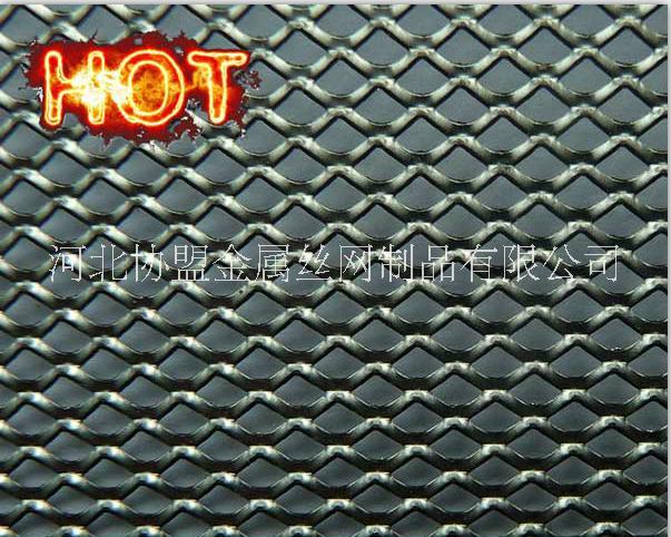 供应高品质金属板网菱形网图片
