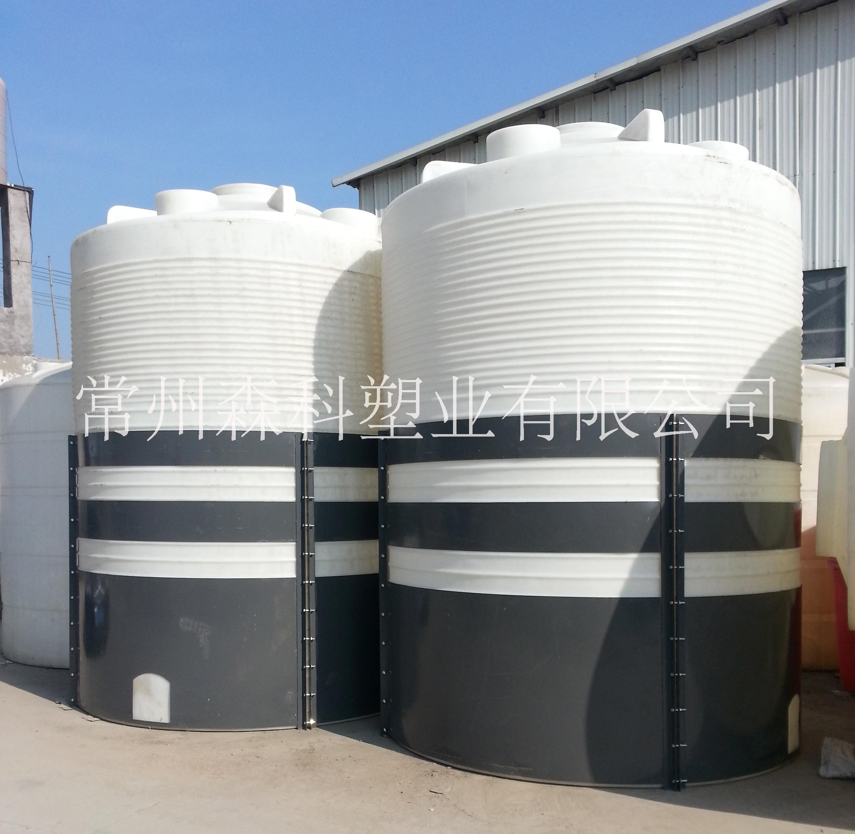 20吨塑料储罐 20立方PE储罐  大型化工储罐  耐酸碱水塔