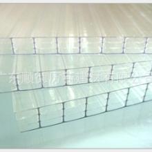 固得利 6mm四层透明PC阳光板 卡布隆板 阳台飘窗采光板 车棚雨棚
