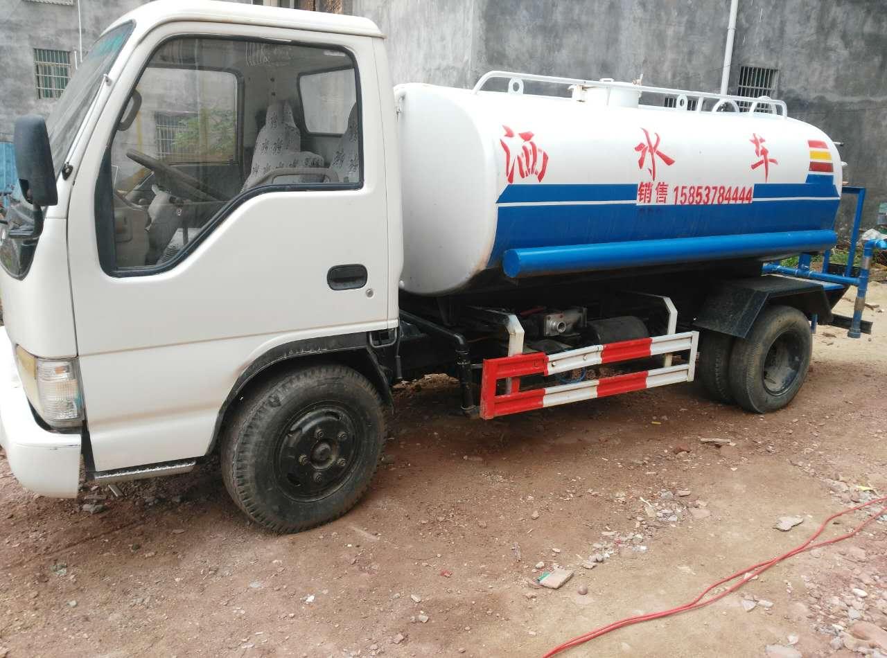 广东沃尔通公司二手洒水车喷洒车厂家促销惠州试车 广东洒水车