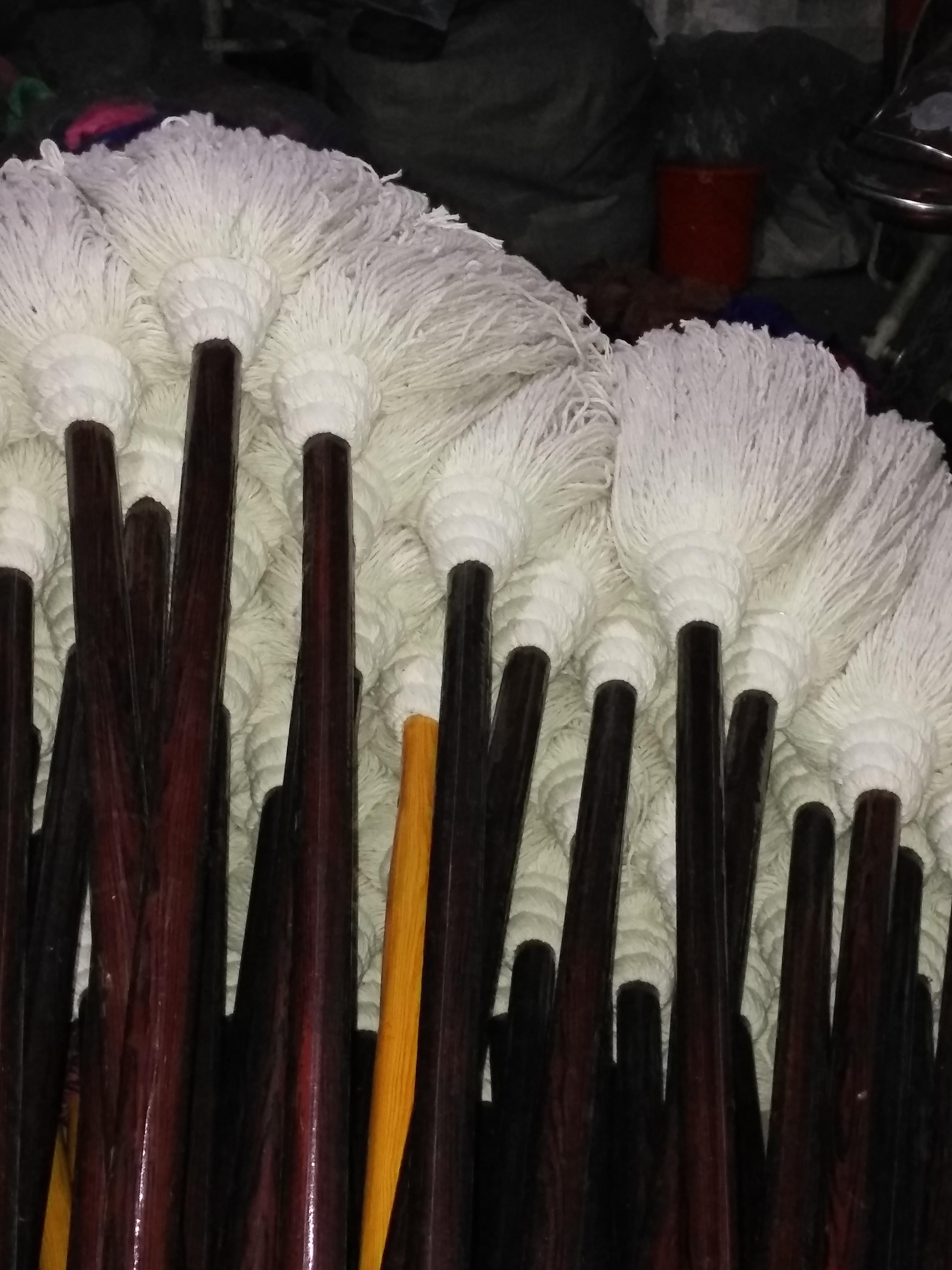 木杆棉纱线拖把