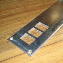 铝片冲压加工 45*2.0方孔铝批发