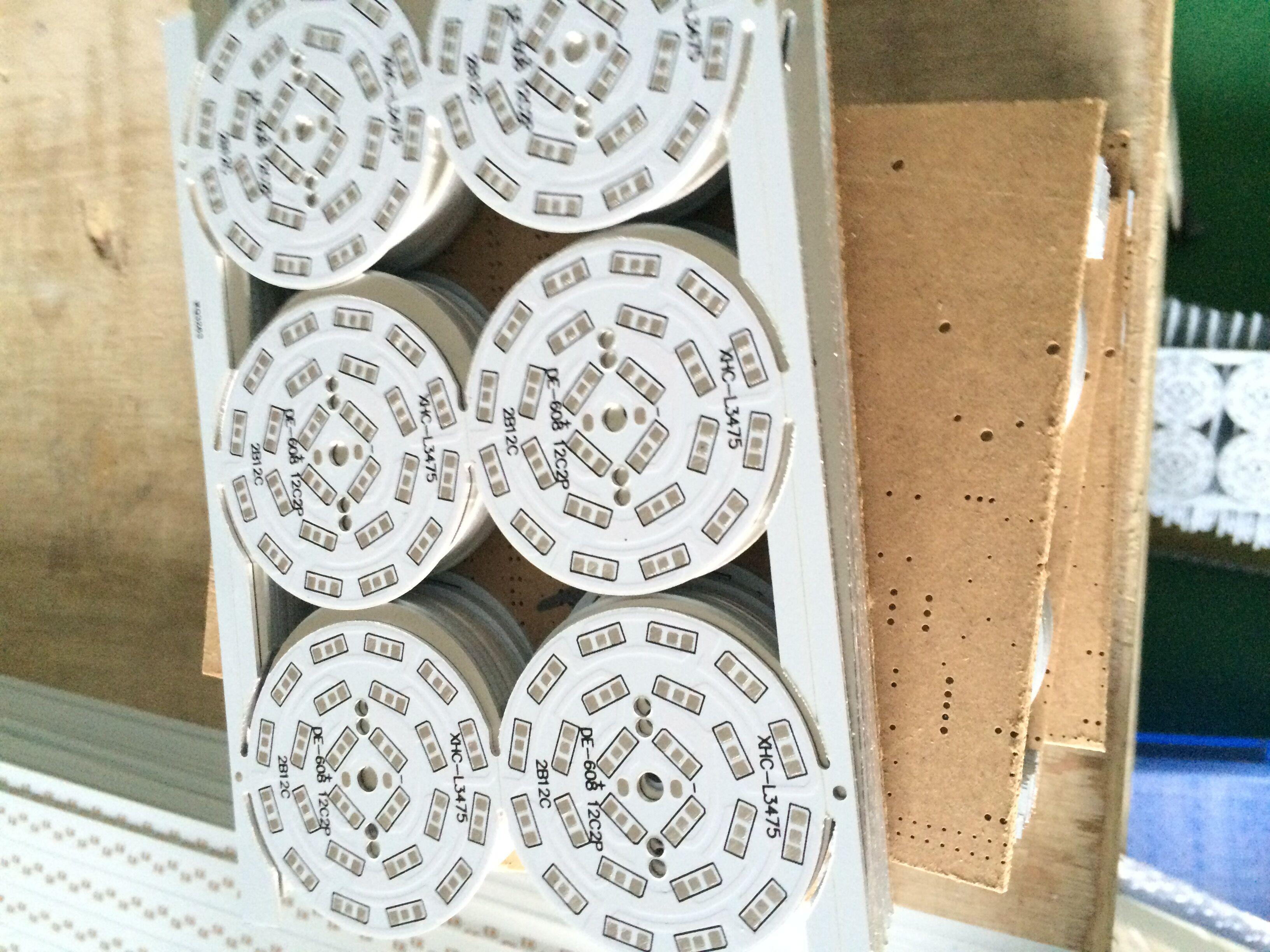 供应LED超薄面板灯0.3MM0.4MM铝基板厂家