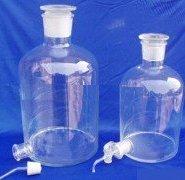 供应兰州实验室玻璃放水瓶、下口瓶图片