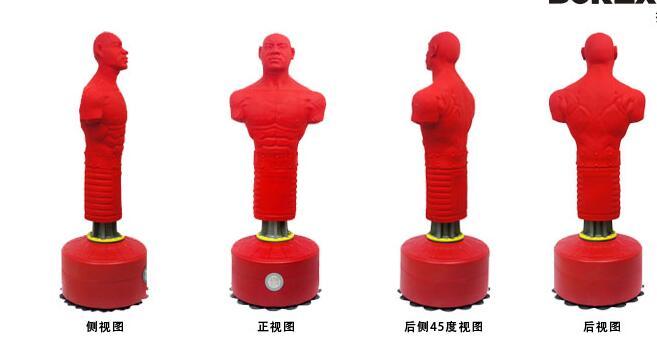 重庆全硅胶宣泄器材散打宣泄不倒翁送特殊面具