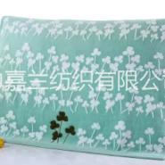 雪尼尔枕巾纯棉枕巾婚庆枕巾图片
