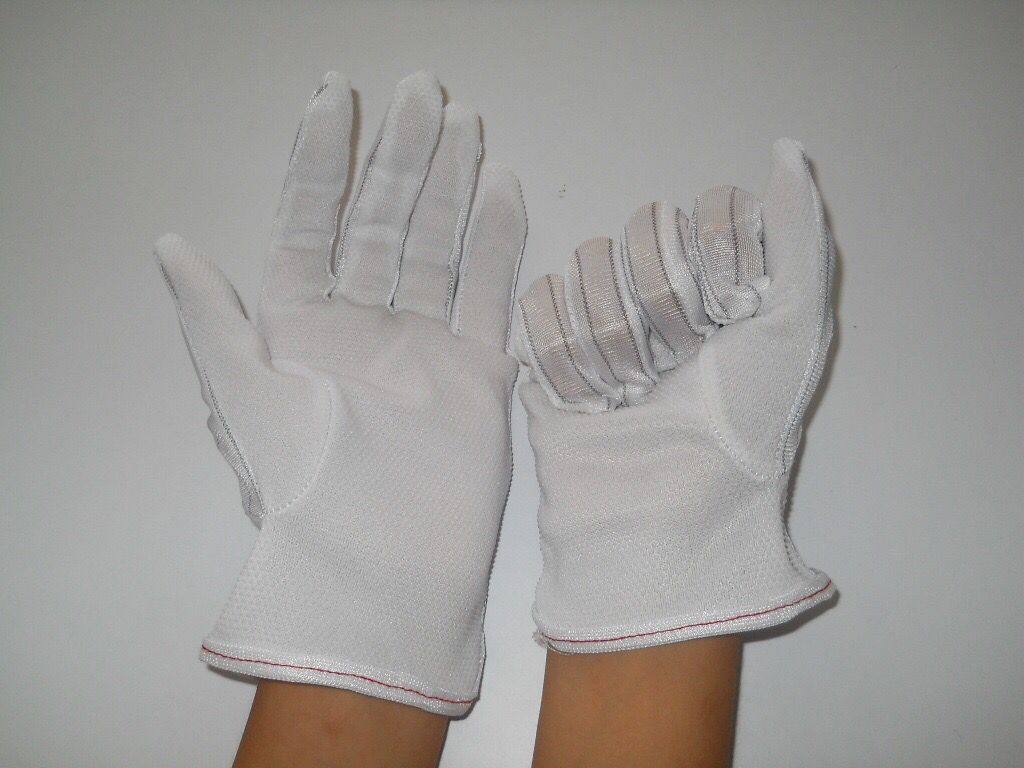 防静电点胶手套 防静电防滑手套