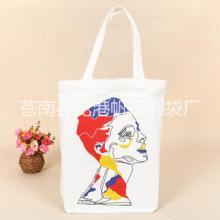 热转印棉布手提袋时尚购物袋礼品袋厂家专业定制帆布袋印刷logo