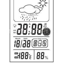 温度LCD显示电子日历芯片IC批发