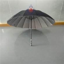 16骨纤维大伞手开五星级酒店专用长柄伞物业雨伞深圳雨伞厂伞厂批发