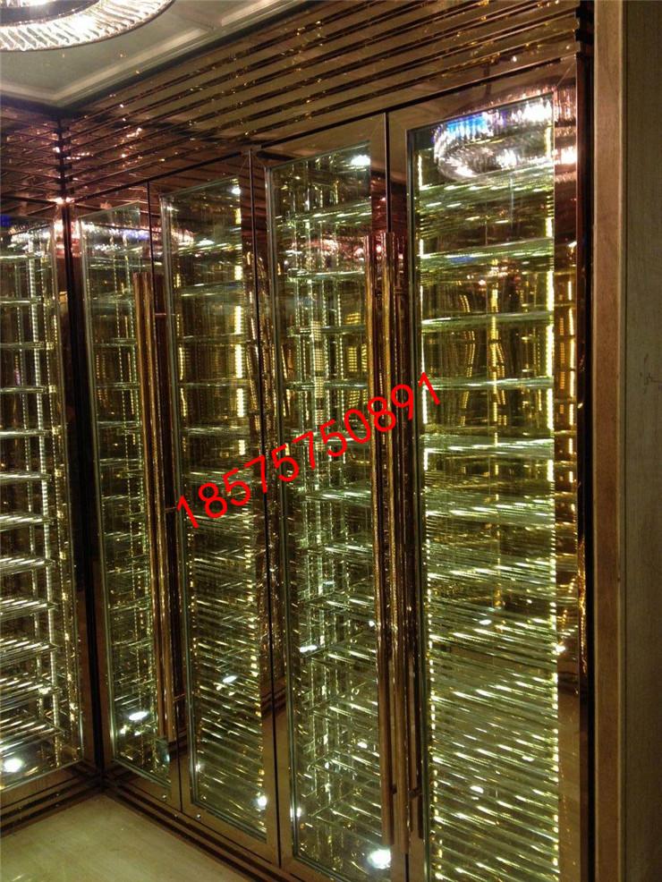 不锈钢酒柜厂家 不锈钢酒柜定制 不锈钢酒柜价格