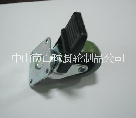 2寸PU塑料刹车轮图片/2寸PU塑料刹车轮样板图 (3)