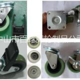 2寸PU塑料刹车轮供应商 塑料刹车轮生产厂家 轻型脚轮厂家批发商 中山塑料刹车轮 塑料刹车轮价格