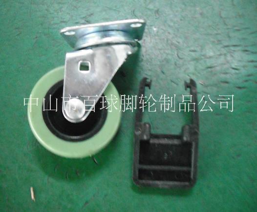 2寸PU塑料刹车轮图片/2寸PU塑料刹车轮样板图 (2)