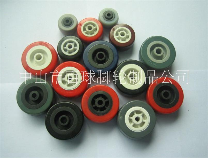 2寸PU塑料刹车轮图片/2寸PU塑料刹车轮样板图 (4)
