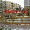 哪里的仿木栏杆质量好_仿木栏杆找忆古园林15865687188