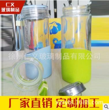 厂家直销普通豪利玻璃水杯 500m运动杯子 随手杯 厂家可定制logo