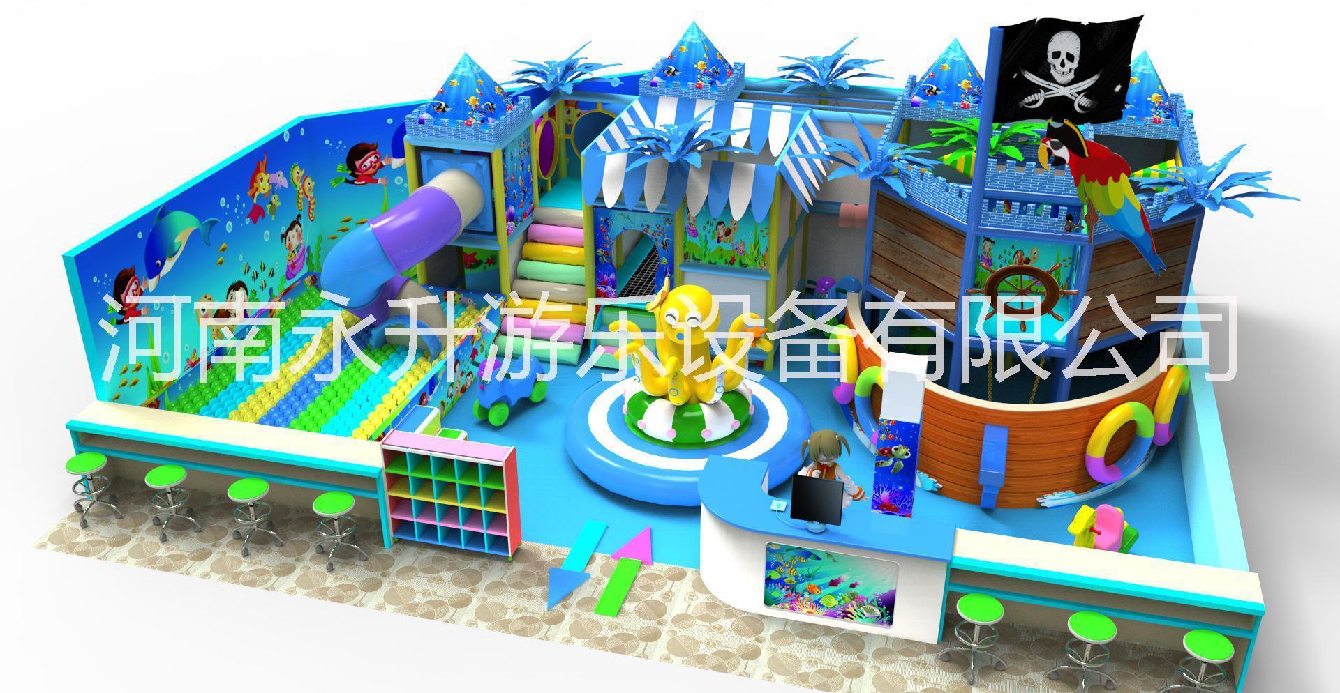 幼儿园早教设施 儿童乐园淘气堡