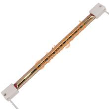 生产定做短波透明加热灯,卤素节能灯,镀金加热灯金是好透明节能灯管批发