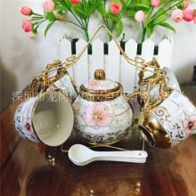 厂家直销陶瓷功夫茶具礼品 9件小茶壶套装 实用家居陶瓷用品 茶具9件套/5件套批发