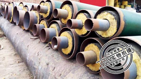钢套钢蒸汽保温钢管 钢套钢保温钢管 保温钢管