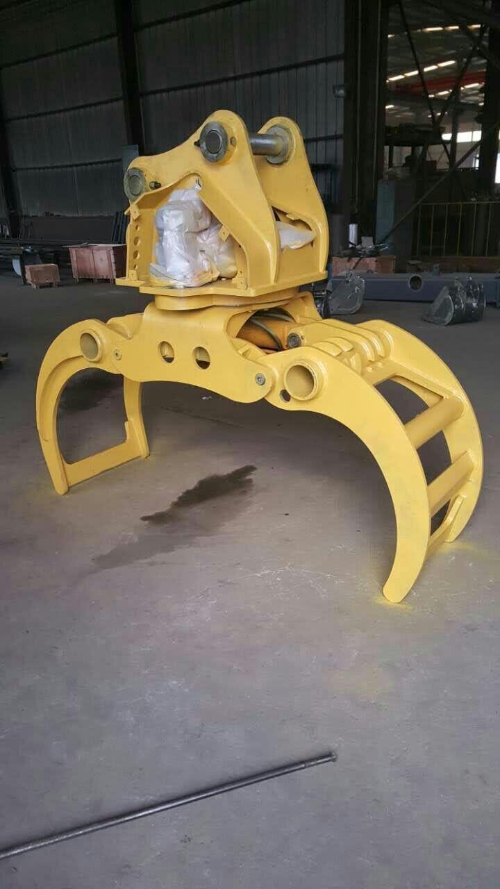 抓木器 夹木器 液压抓木器 抱木夹 开口2米 360度旋转 进口液压马达 抓木快速 高效 赚钱机器