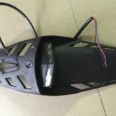 越野摩托车LED后尾灯挡泥板一体 尾灯支架 越野摩托车LED后尾灯挡泥板一体