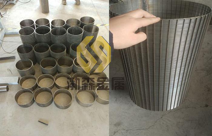 渤森 高效不锈钢V型丝绕丝管报价