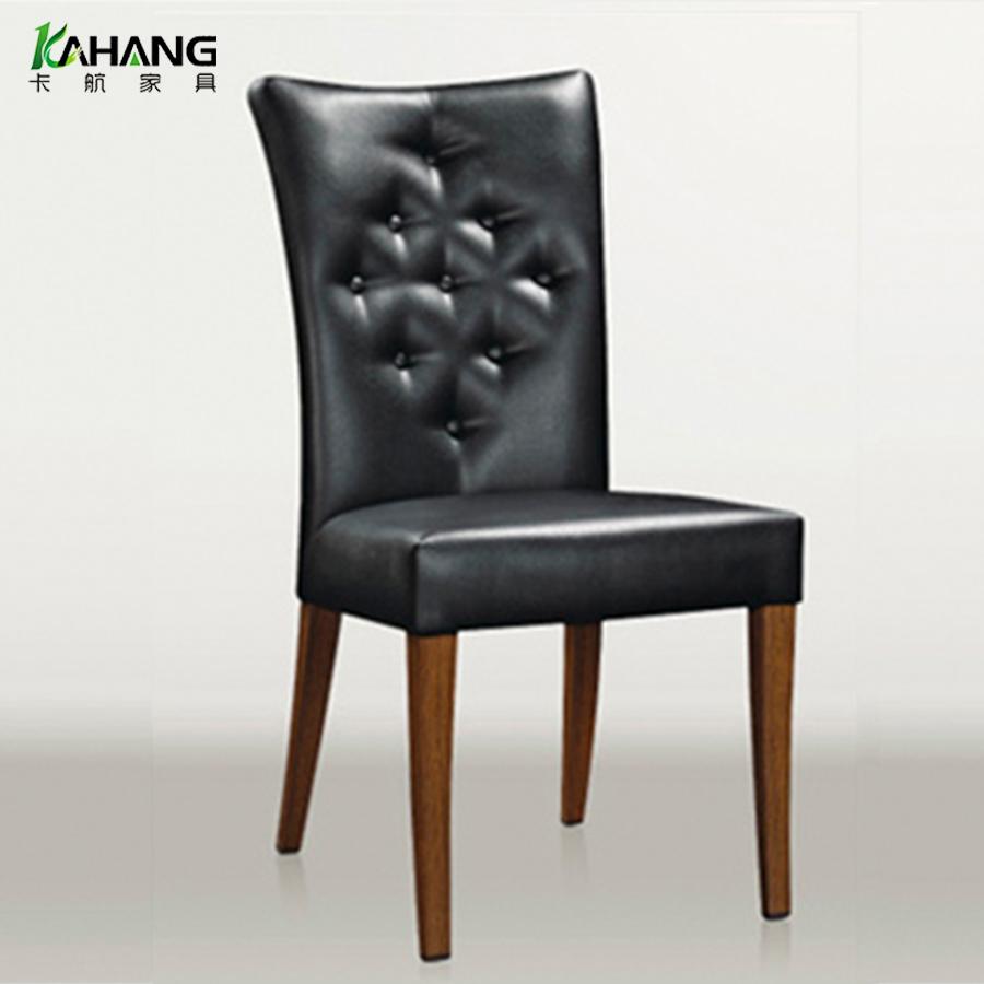 皮制酒店椅厂家直销欧式皮制软包餐厅椅现代凳子酒店餐椅卡航家具