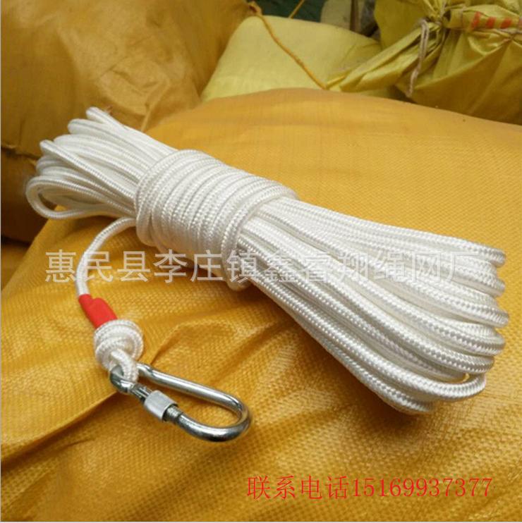 10mm钢丝芯逃生绳救援绳防火灾消防逃生用品缓降器