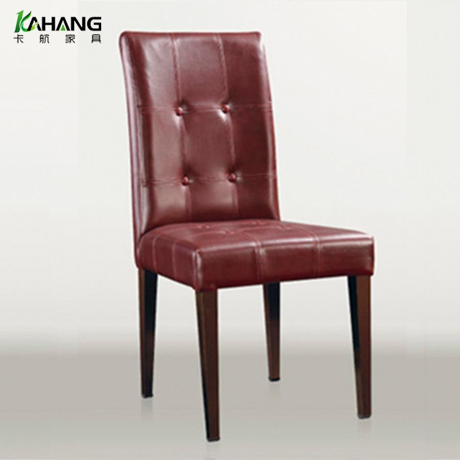酒店椅厂家批发简约现代厂家批发五金软包餐椅 专业生产豪华仿木餐椅