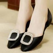 韩版平底女鞋图片