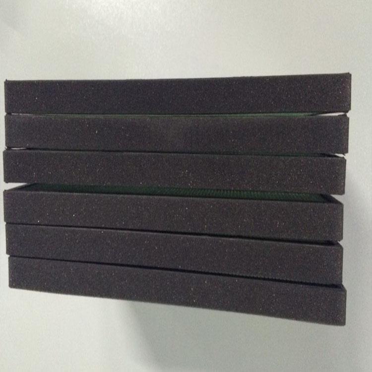 环境净化器蜂窝芯光触媒过滤网自动贴海棉机包海绵机粘海绵自动包海绵机 滤芯自动包海绵机