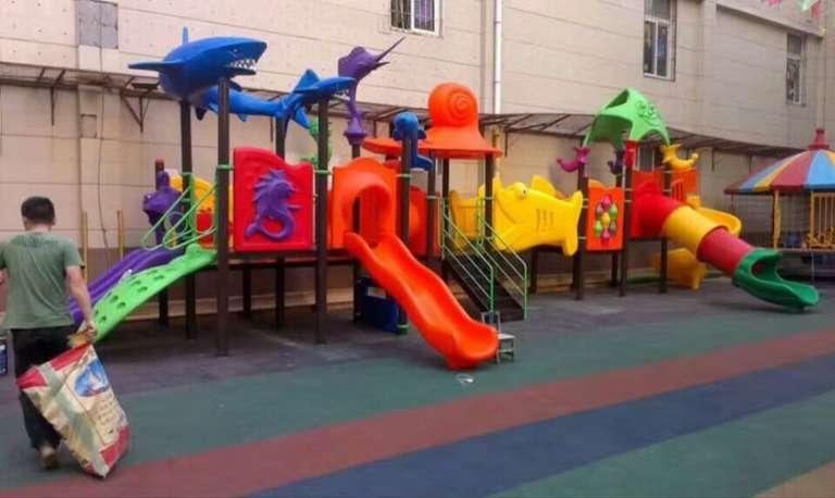 塑料儿童滑梯生产厂家