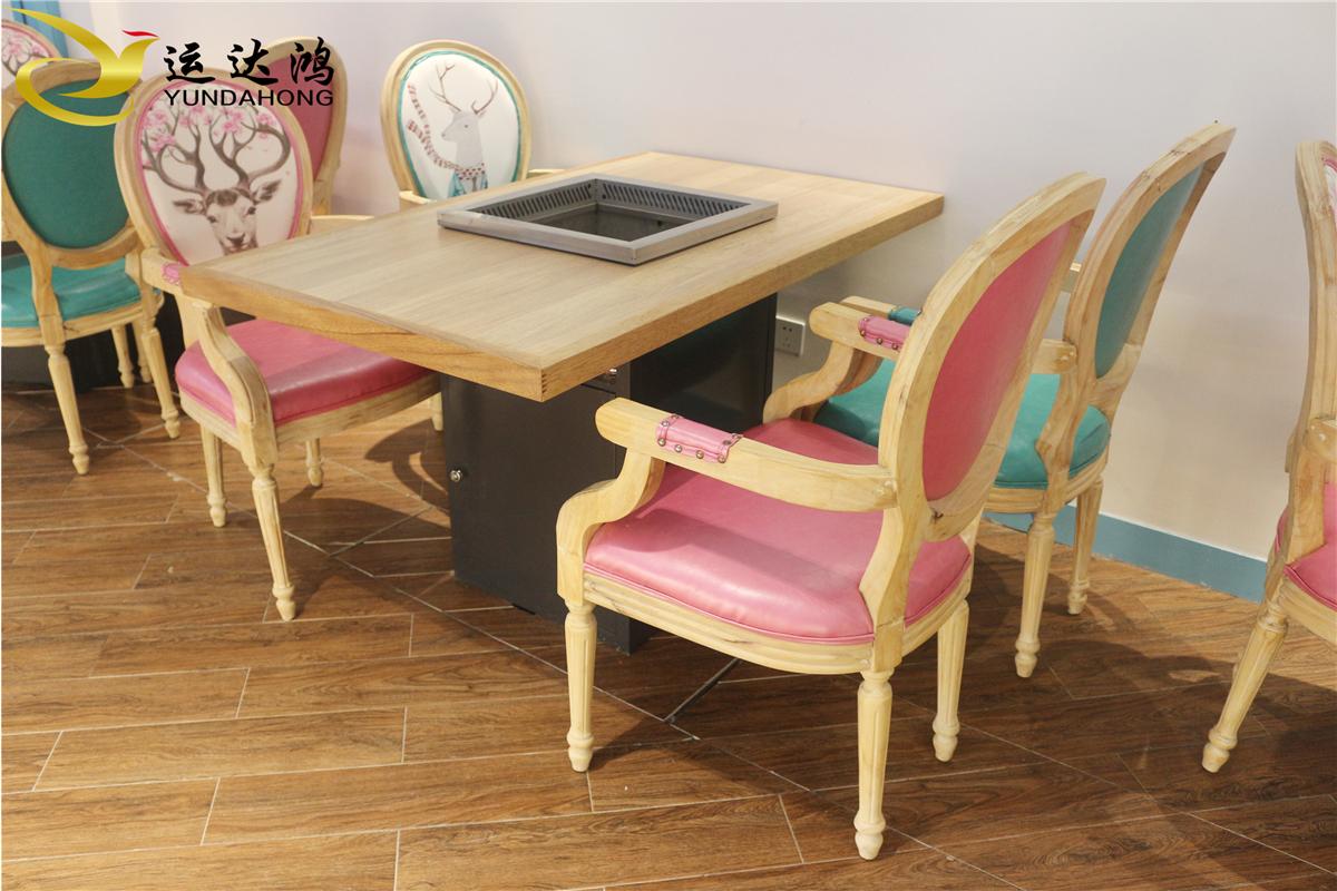实木餐桌椅 主题餐厅实木家具定制 酒店实木餐桌椅 实木餐桌椅供应