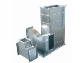 遵义通风管厂家加工安装制作 暖通风管镀锌板