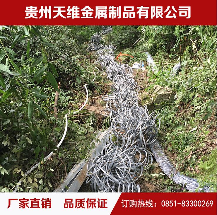 供应被动网防护网厂家直销坡顶防护网 防止落石 贵州坡顶防护网