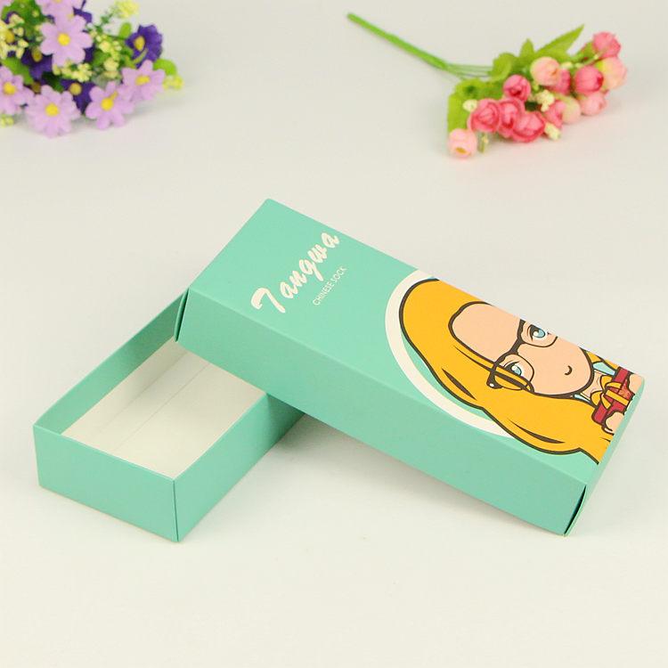厂家定做 袜子包装盒 内裤礼品盒 天地盖定做 打底裤盒子纸盒定制