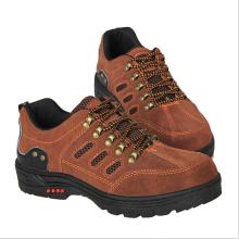 足部防護工作鞋 反絨牛皮防砸安全鞋 戶外探險徒步安全鞋廠家直銷批發