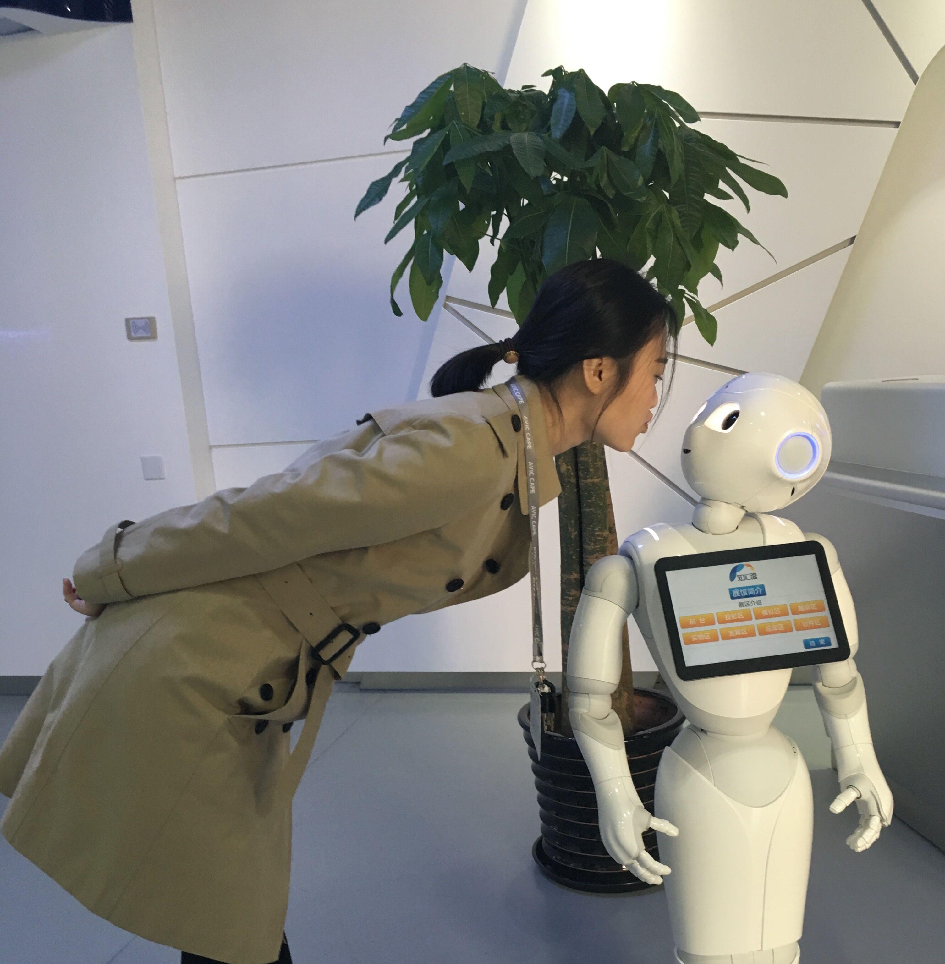精琢供应机器人Pepper