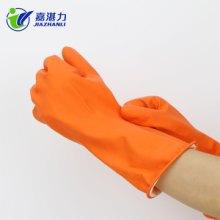 厂家直销超护防水家务清洁手套防油厨房洗碗洗衣服家用乳胶手套图片